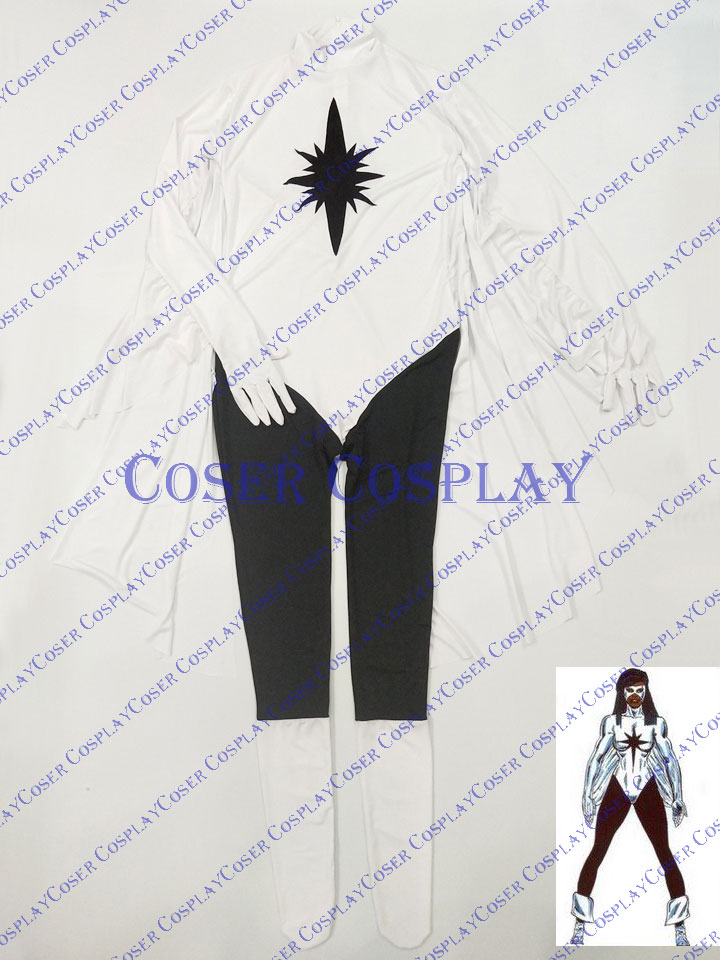 2019 Captain Marvel Monica Rambeau Sexy Halloween Costumes 0409